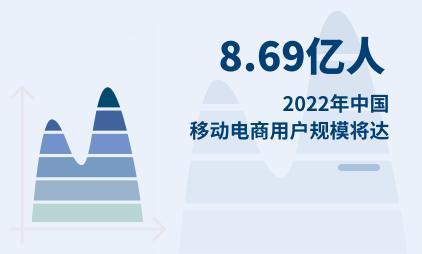 移动电商行业数据分析:2022年中国移动电商用户规模将达8.69亿人