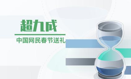 新春消费行业数据分析:超九成中国网民春节送礼