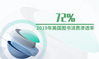 图书行业数据分析:2019年美国图书消费渗透率为72%