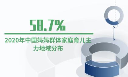 母婴行业数据分析:2020年中国一线城市58.7%妈妈群体家庭育儿主力是自己