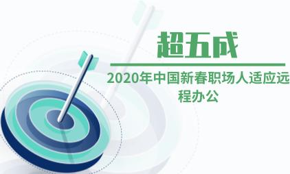 远程办公行业数据分析:2020年中国新春超五成职场人适应远程办公