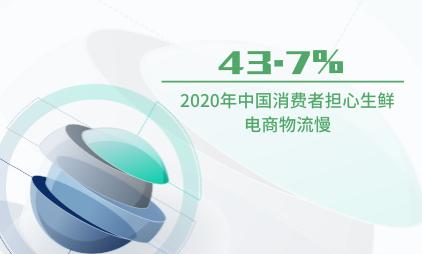生鲜电商行业数据分析:2020年中国43.7%消费者担心生鲜电商物流慢