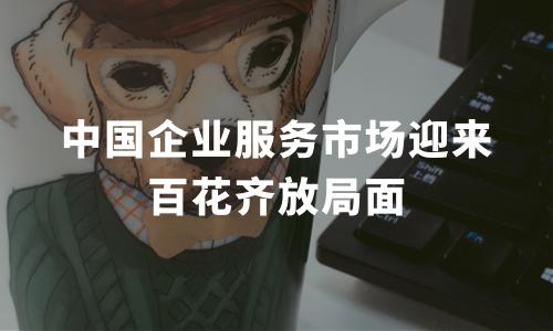 中国企业服务市场迎来百花齐放局面 优税猫精耕税收筹划领域助力行业发展