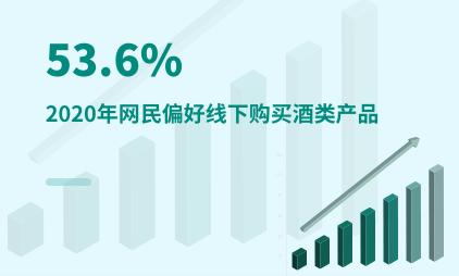 酒类行业数据分析:2020年中国53.6%网民偏好线下购买酒类产品