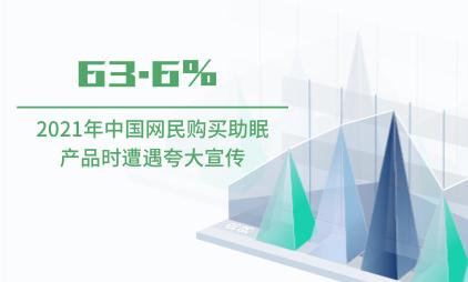 睡眠经济数据分析:2021年中国63.6%网民购买助眠产品时遭遇夸大宣传