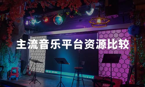 2020年中国主流音乐平台资源、创新点比较分析