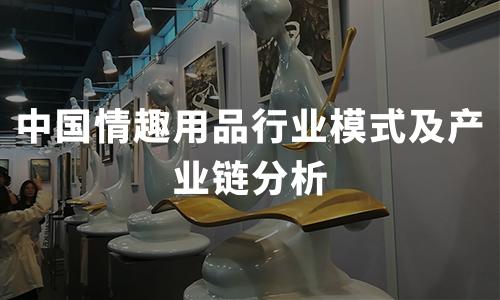 2020年中国情趣用品行业模式及产业链分析