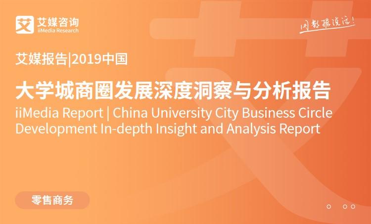 艾媒报告 |2019中国大学城商圈发展深度洞察与分析报告