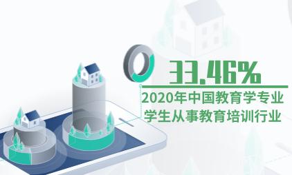 就业市场数据分析:2020年中国教育学专业33.46%学生从事教育培训行业