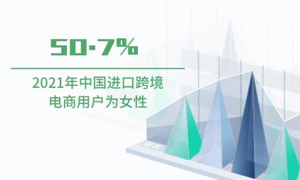跨境电商行业数据分析:2021年中国50.7%进口跨境电商用户为女性