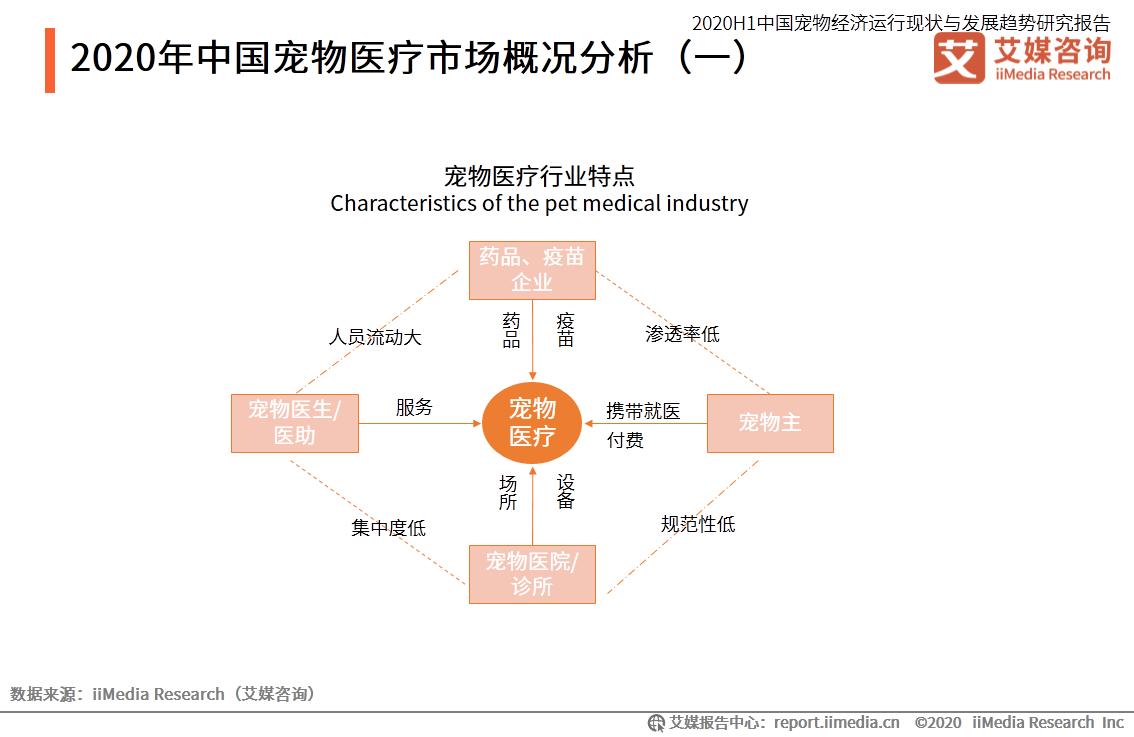 中国宠物医疗市场概况分析