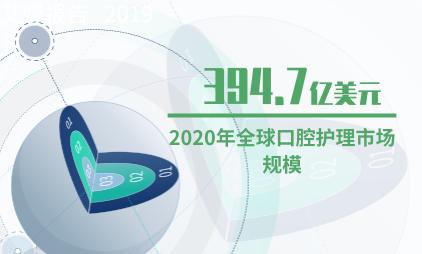 口腔护理行业数据分析:2020年全球口腔护理市场规模预计达394.7亿美元