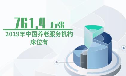 养老行业数据分析:2019年中国养老服务机构床位有761.4万张