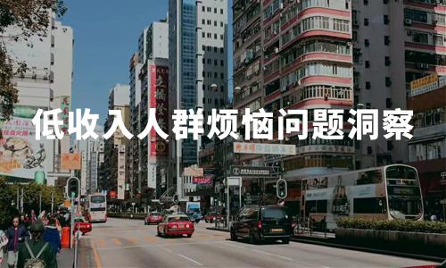 2019年中国低收入人群烦恼问题洞察