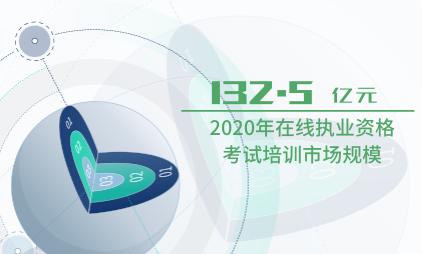 职业教育行业数据分析:2020年在线执业资格考试培训市场规模达132.5亿元