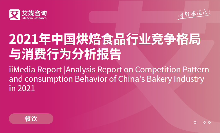 艾媒咨询|2021年中国烘焙食品行业竞争格局与消费行为分析报告