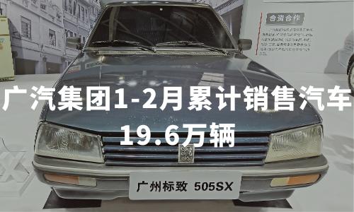 广汽集团1-2月累计销售汽车19.6万辆,2020年中国汽车行业现状分析