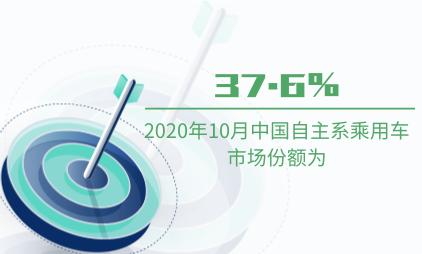 汽车行业数据分析:2020年10月中国自主系乘用车市场份额为37.6%