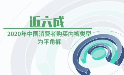 内衣行业数据分析:2020年近六成中国消费者购买内裤类型为平角裤