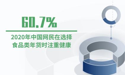新春消费行业数据分析:2020年60.7%中国网民在选择食品类年货时注重健康