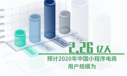 电商行业数据分析:预计2020年中国小程序电商用户规模为2.26亿人