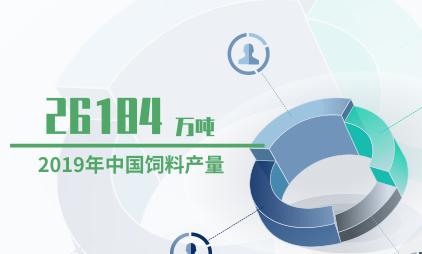 农业数据分析:2019年中国饲料产量达26184万吨