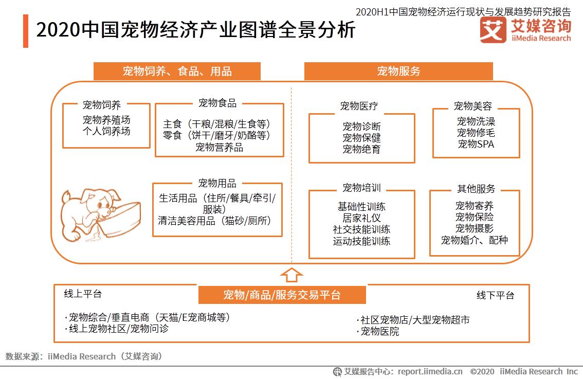 2020中国宠物经济五分3d图谱全景分析