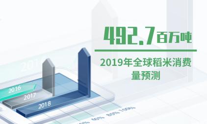 农业数据分析:2019年全球稻米消费量预计达492.7百万吨