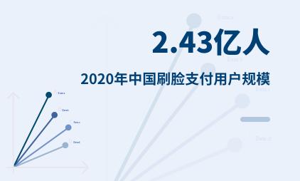 移动支付行业数据分析:2020年中国刷脸支付用户规模为2.43亿人