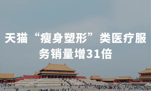 """天猫""""瘦身塑形""""类医疗服务销量增31倍,2020中国健康瘦身大发一分彩现状及趋势分析"""