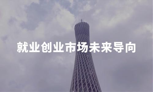 2020中国就业创业环境、市场未来导向及趋势分析