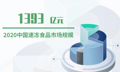 速冻食品行业数据分析:预计2020年中国速冻食品市场规模将达1393亿元