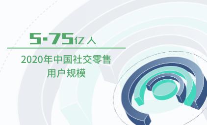 零售行业数据分析:2020年中国社交零售用户规模为5.75亿人