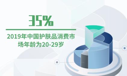 护肤品行业数据分析:2019年中国35%护肤品消费市场年龄为20-29岁