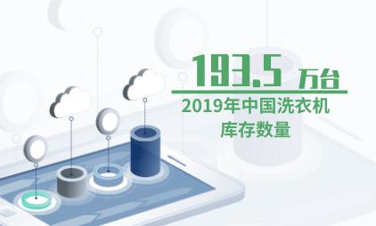 家电行业数据分析:2019年中国洗衣机库存数量降至193.5万台