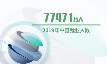 就业创业数据分析:2019年中国就业人数达77471万人