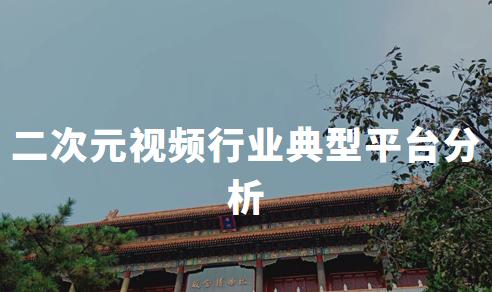 2019-2020中国二次元视频行业典型平台分析——AcFun、哔哩哔哩