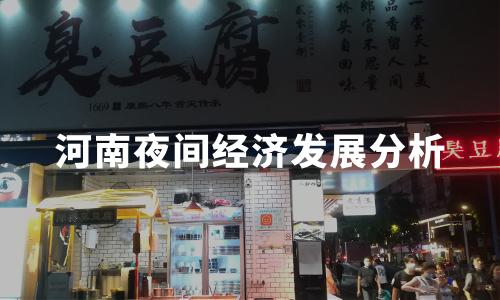 2020中国代表城市夜间经济发展分析——河南