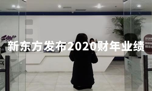 新东方2020财年盈利4.13亿美元,海外考试准备业务同比降约52%
