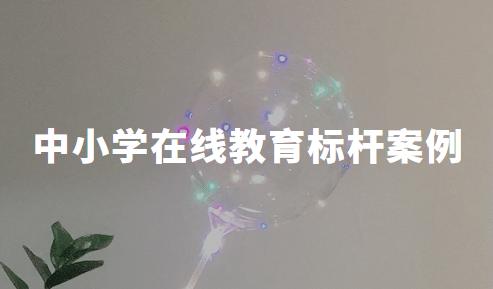 2020Q1中国中小学在线教育标杆案例分析——方直科技