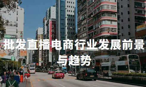 2020年中国批发直播电商行业发展前景与趋势剖析
