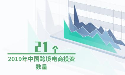 跨境电商行业数据分析:2019年中国跨境电商投资数量降至21个
