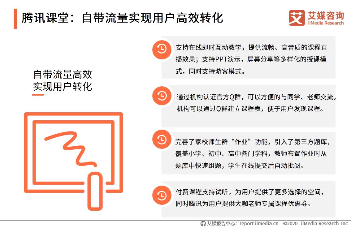 腾讯课堂:自带流量实现用户高效转化