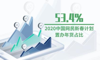 春节消费数据分析:2020中国网民新春计划置办年货占比达53.4%