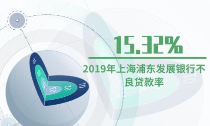 银行行业数据分析:2019年上海浦东发展银行不良贷款率为15.32%