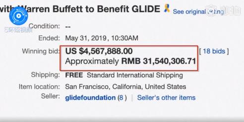 网友神评论|巴菲特午餐457万美元成交,与股神吃天价午餐的中国大佬现在怎样了?
