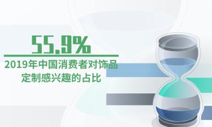 饰品行业数据分析:2019年55.9%中国消费者对饰品定制感兴趣