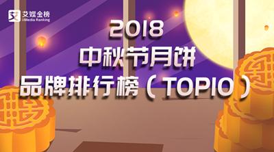 艾媒金榜|2018中秋节月饼品牌排行榜:老字号月饼领跑市场