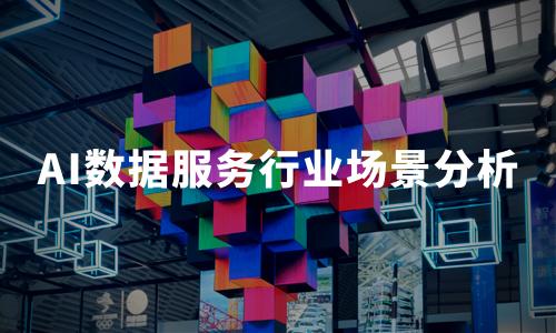 2020中国AI数据服务行业场景分析:医疗、金融