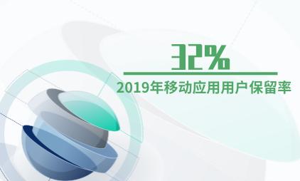 移动应用行业数据分析:2019年移动应用用户保留率为32%
